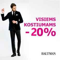 BALTMAN akcija kostiumams